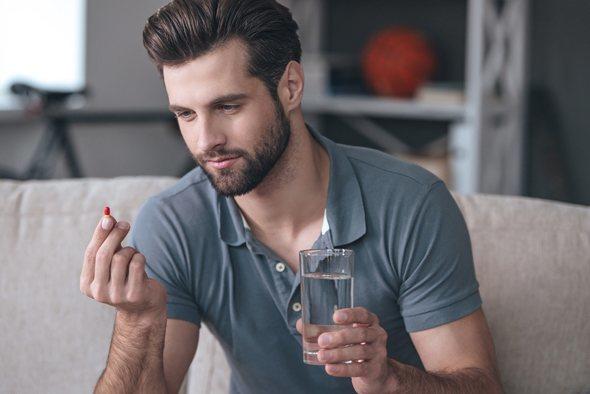 ED in younger men is using diuretics